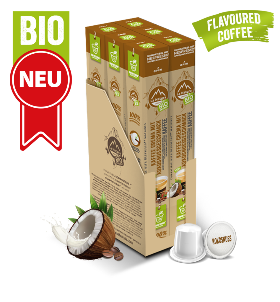 LNL Flavoured Crema Kokonuss BAG 1 MASTER BOX WEB German